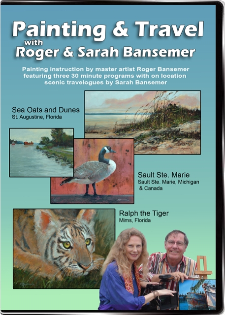Painting and Travel with Roger and Sarah Bansemer